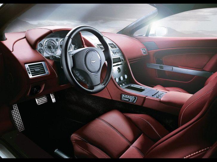Aston Martin Wallpapers : 2007 Aston Martin V8 Vantage Interior