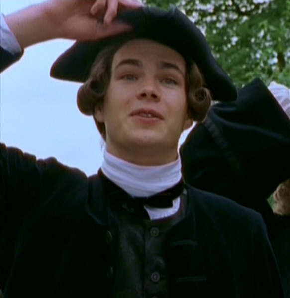 James D'Arcy as William Blifil, the legitimate son of Squire Allworthy's sister. Despises Tom Jones, Allworthy's bastard ward, and constantly schemes to remove him from the kindly Squire's favour.