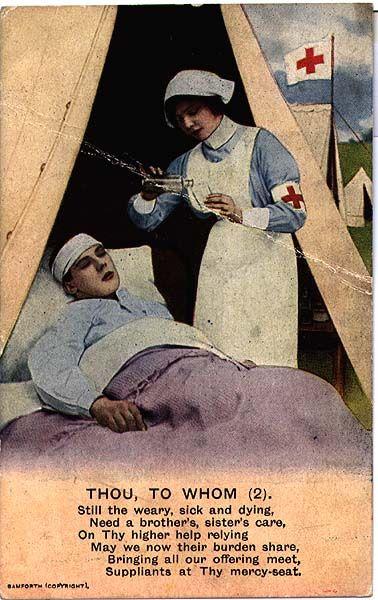 Forum Eerste Wereldoorlog :: Bekijk onderwerp - Leo van Bergen Verpleging tijdens de Eerste Wereldoorlog