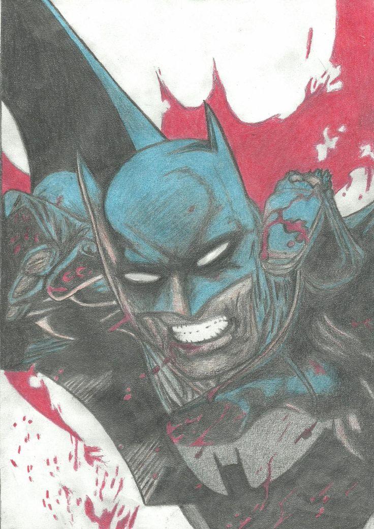 Batman - 2012 - drawing - 20 x 30 cm