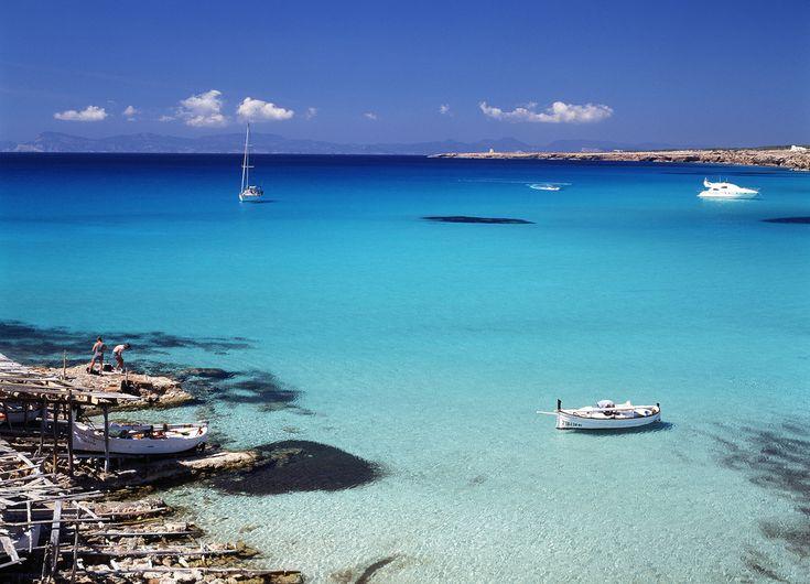 Cala Saona - Formentera Balearic Islands. Spain.