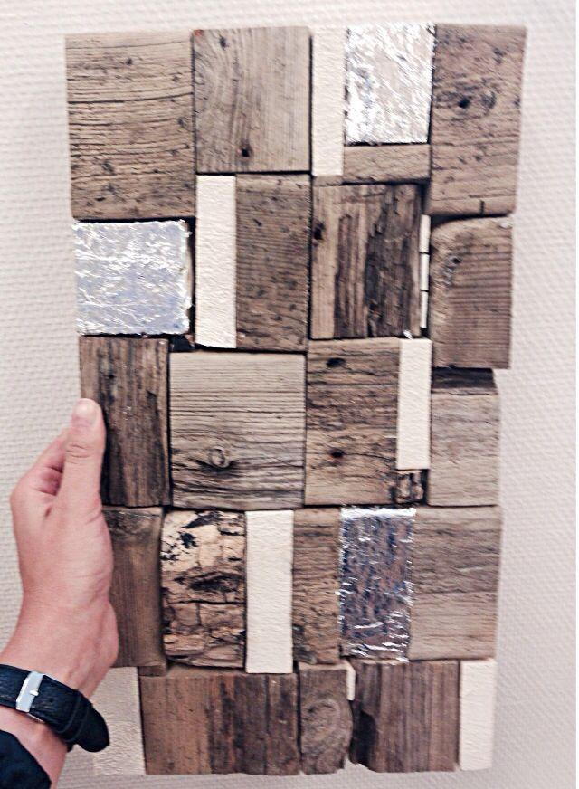 •Relief•  Driftwood & sheet metal