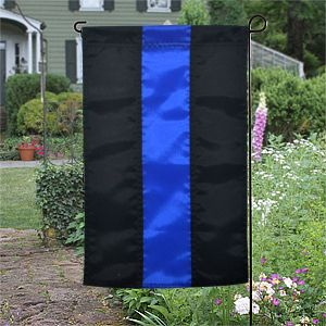 FlagCenter.com - Thin Blue Line Garden Flag, $17.95 (http://www.flagcenter.com/thin-blue-line-garden-flag/)