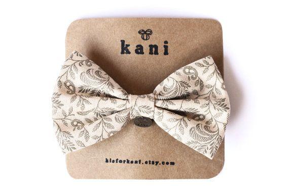 bow hair clip / fabric hair bow, handmade retro inspired patterned bow, hair pin, vintage inspired, harajuku