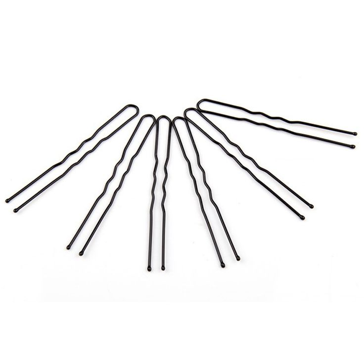 20PCS Hot Black Plated Thin U Shape Hair Pin Black Metal Clips Barrette Health Hair Care Beauty Hair Accessories Hairpins