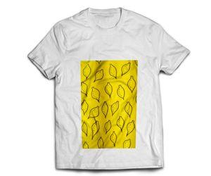 Hand painted lemon T-shirt
