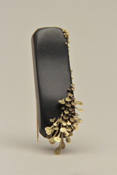 Growth Brooch - jewellery inspired by natural forms; organic jewelry // Emi Grannis