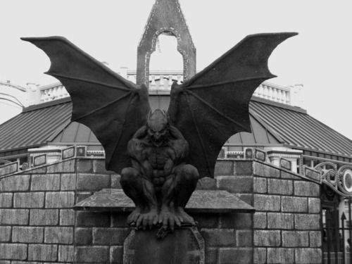 Gargoyles Are A Major Part Of Gothic Architecture Were Present On Churches All Around Which Is Why They Considered Symbol