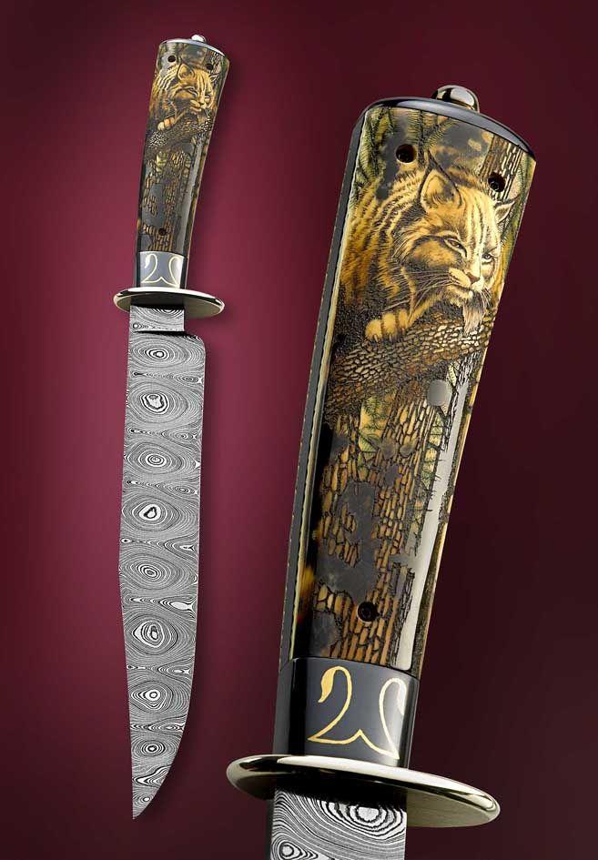 144 Best Images About Scrimshaw Art On Knives Guns Ivory