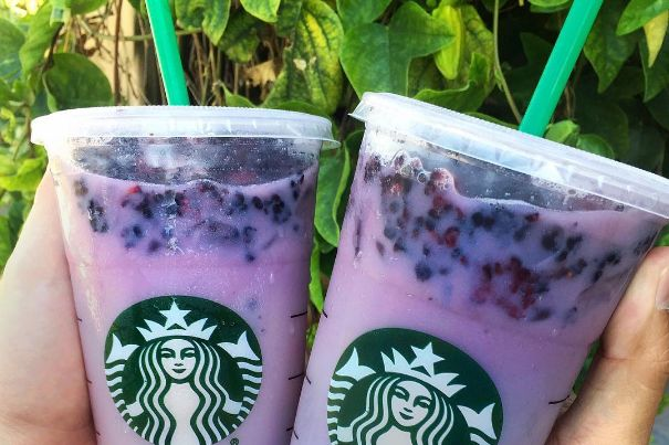 You Can Now Order a Secret Starbucks Purple Drink — But There's a Catch