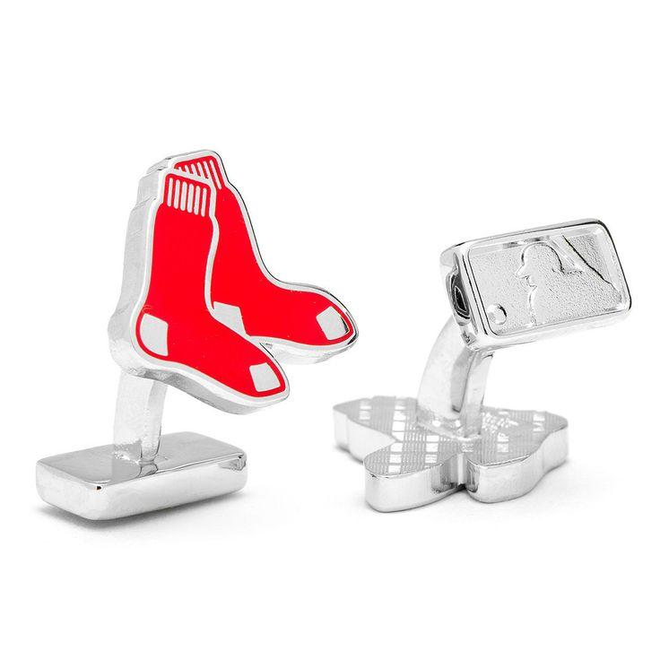 Palladium Edition Boston Red Sox Cufflinks