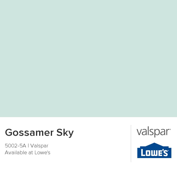 Kitchen and Breakfast Nook // Gossamer Sky from Valspar