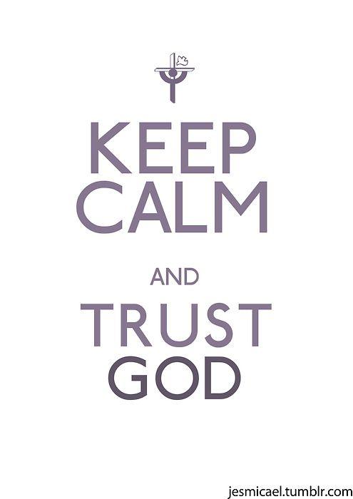 Calm down my Soul. Psalm 46:10