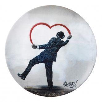 Royal Doulton Street Art Nick Walker Love Vandal Plate 27cm