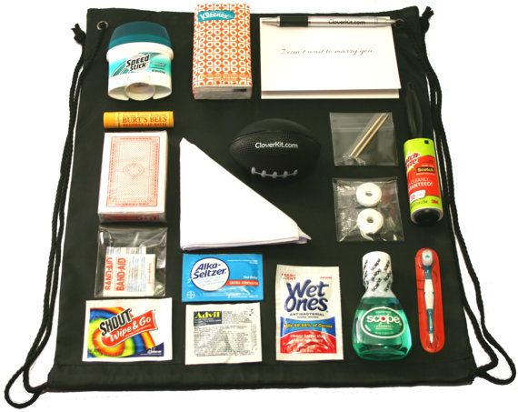 Groom Survival Kit  21 unique items  Makes a Great by CloverKit