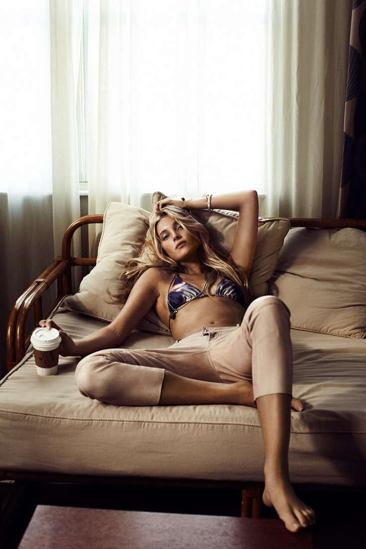 Model, muse and super-babe Elsa Hosk..loving those freckles and almond eyes..    tfs, guy aroch, milk, elle