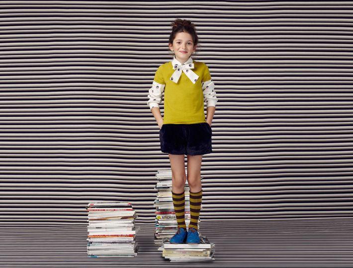 Moutarde - Lookbook automne hiver 2014-2015 - Lili Gaufrette
