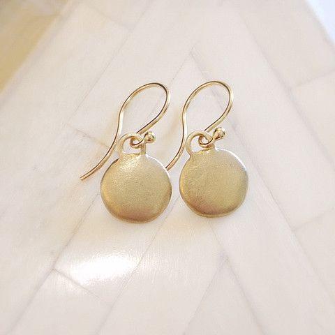 Monsoon Earrings 14k Gold – Eran Naylor Jewellery