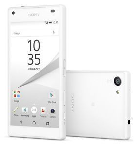 White Original Sony Xperia Z5 Compact E5823 32GB (Unlocked) Smartphone 4G 23MP