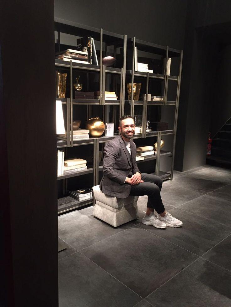 Bruno Tarsia @ Casamilano stand Salone del Mobile Milan Hall 3 Stand F-23