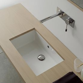 Best Rectangular Bathroom Sinks Ideas On Pinterest Sink With - Square undermount bathroom sinks for bathroom decor ideas