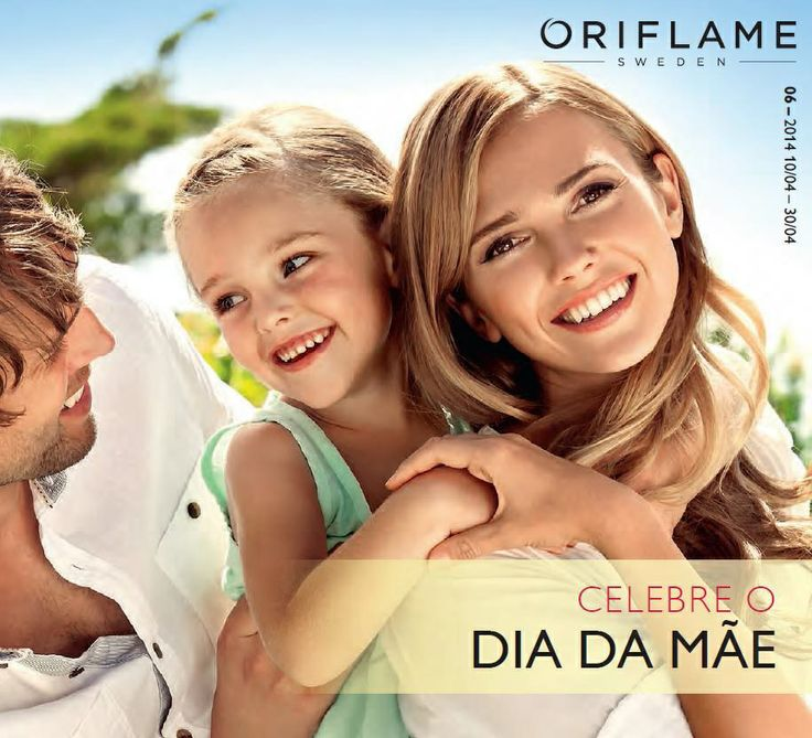 Flyer do Catálogo Oriflame 6 2014