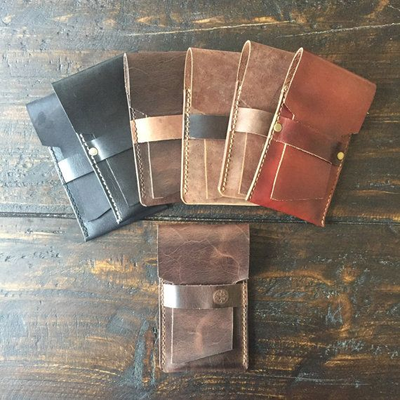 Leather Cigar Travel Case 2.0 by DownSouthLeatherCo on Etsy