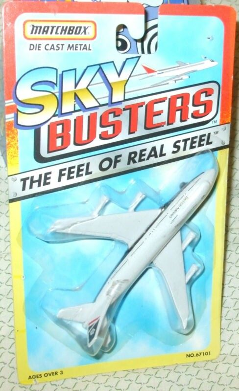 1996 Matchbox Skybusters Boeing 747 British Airways