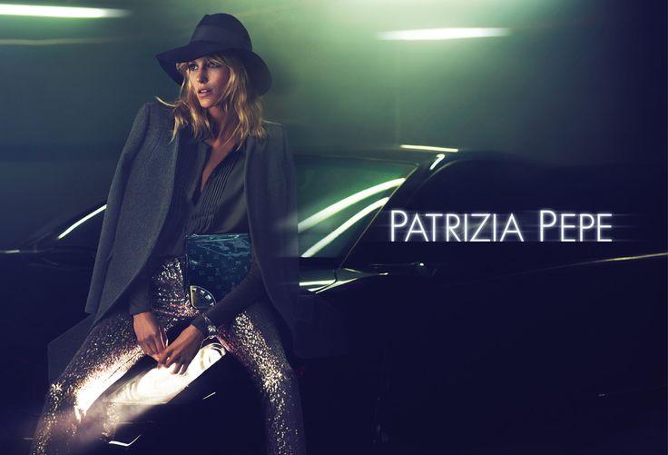 "The face of the new season, the Polish model Anja Rubik, gives her interpretation on the theme ""Breakfast on the Moon"""