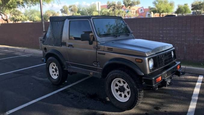 1986 Suzuki Samurai Soft Top W Sumo Ii Motor For Sale In
