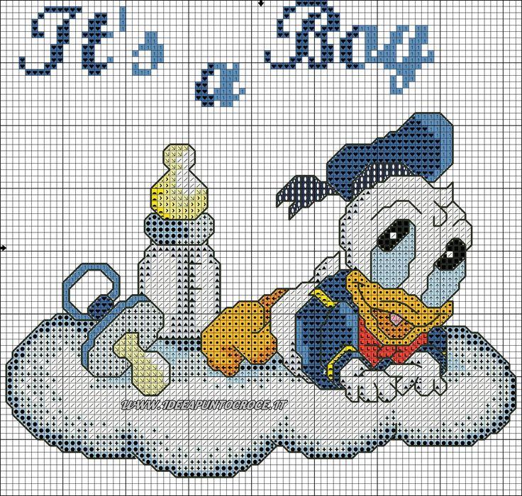Disney Baby Punto Croce Vh96 Regardsdefemmes