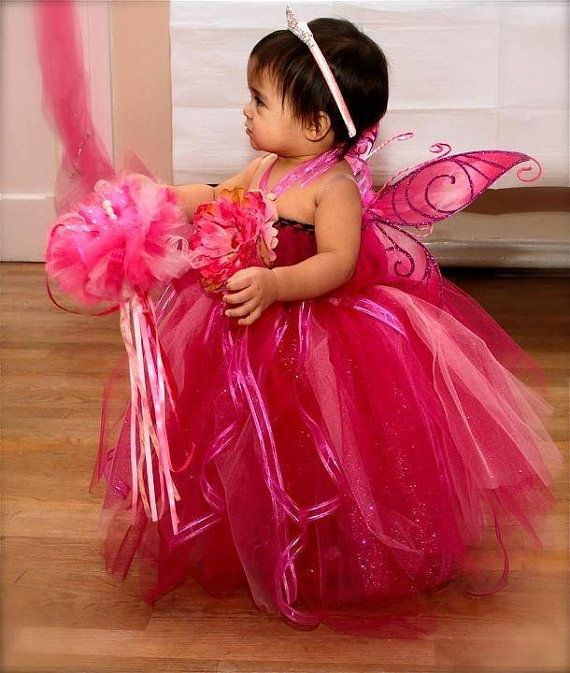 d89eb68e84 First Birthday Butterfly Tutu Dress outfit. wedding flower girl. Baby's  first birthday. Pink in 2019 | Violet's Bday party possible Ideas …