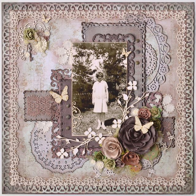 Signature Suite and Signature Life collections by My Mind's Eye. My Funky Scrapbook Blog: Monsie