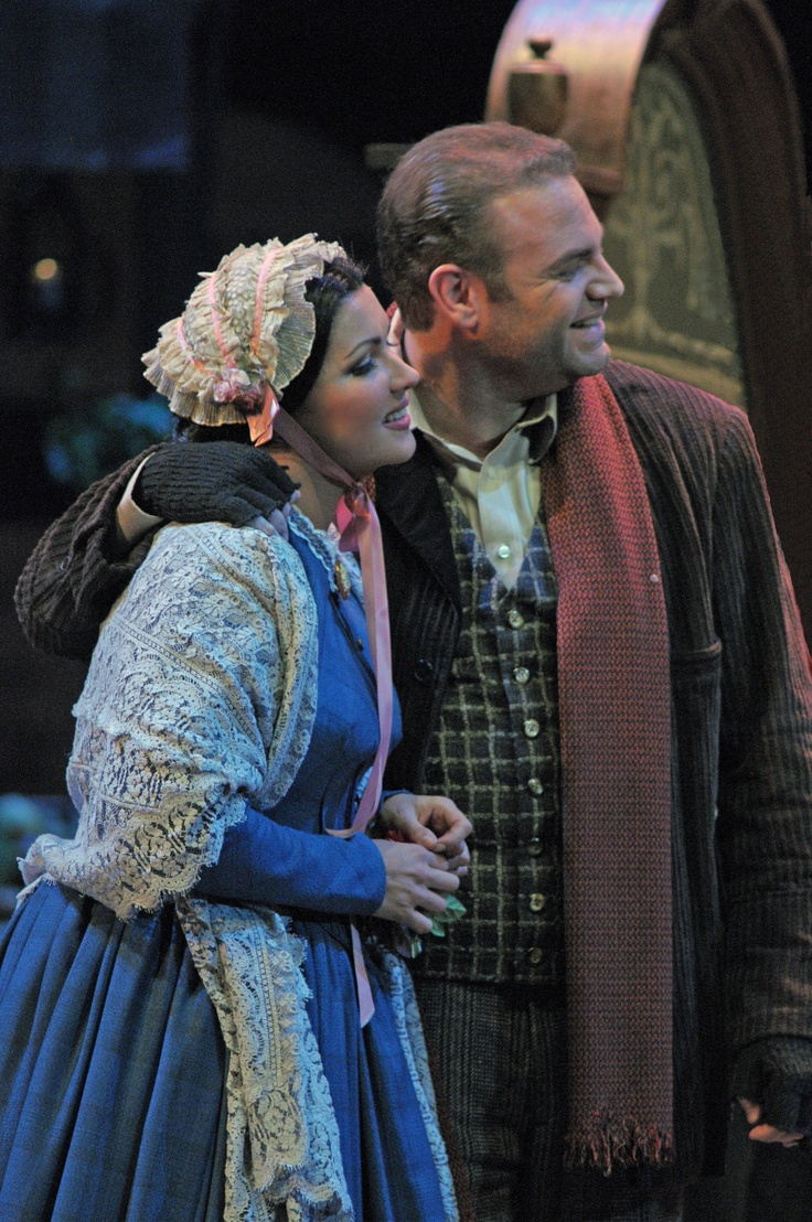 Giacomo Puccini's #LaBoheme at Lyric Opera of Chicago. Photo by Dan Rest/Lyric Opera of Chicago