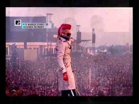 "▶ 30 seconds to mars ""Stronger""(BBC LIVE VERSION) - YouTube"
