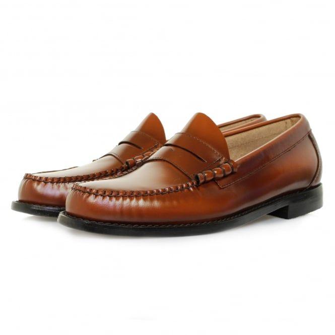 Bass Weejuns UK Store | Larson Cognac Loafer Shoe