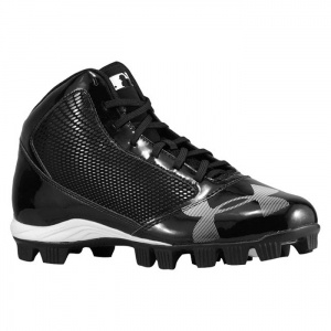 SALE - Mens Under Armour Yard Baseball Cleats Black - Was $54.99. BUY Now - ONLY $39.99