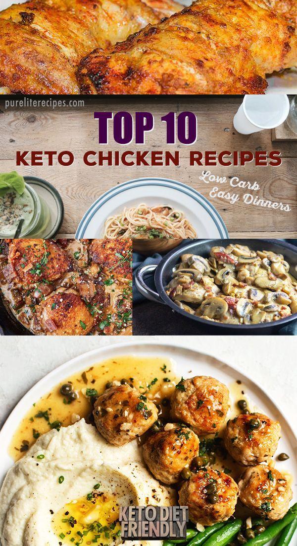 Top 10 Keto Chicken Recipes In 2020 Delicious Chicken Dinners Chicken Dinner Recipes Recipes