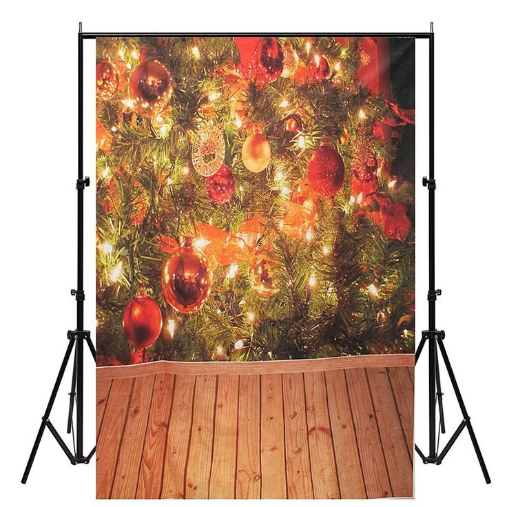 5x7FT Vinyl Christmas Ball Theme Photography Background Cloth Studio Photo Backdrop Props new Decorative 210X150CM