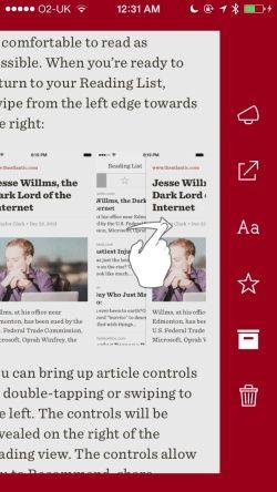 Readability™ Screenshots