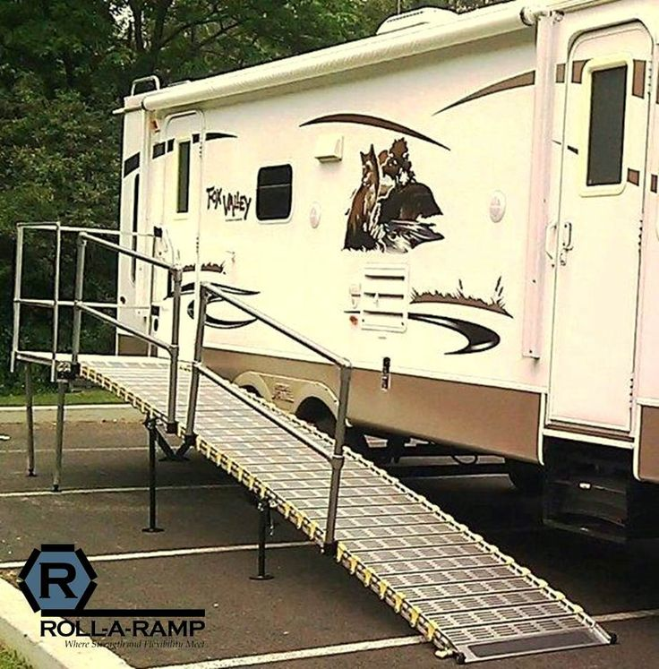 RV Ramps | Travel Trailer Ramps | Camper Ramp | Roll-A-Ramp