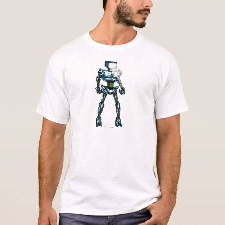 Robot T-Shirt - tap, personalize, buy right now!