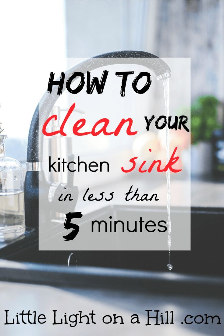 Cool Deep cleaning your kitchen sink is never a fun chore Here is a quick tip