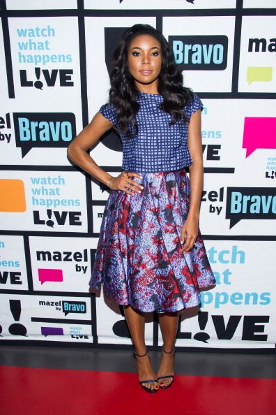 Fabulously Spotted: Gabrielle Union Wearing Lela Rose – Watch What Happens Live