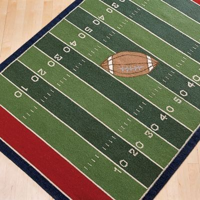 Another Great Area Rug Football Bedroom Ideas Pinterest Room