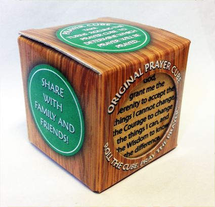CHILDREN'S PRAYER CUBE GL0438 | Mothers Union Shop
