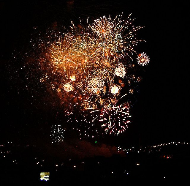 Canada Day in Montreal: 2015 Edition: Canada Day Fireworks