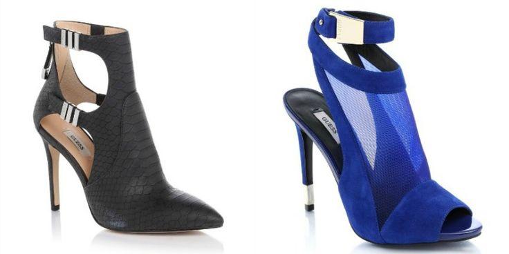 Guess presenta la nuova linea di scarpe Spring 2015. I modelli sono iperfemminili e sensuali, hanno dettagli glamour e un mood decisamente urban-chic. http://www.stilemagazine.it/scarpe-guess-primavera-2015/