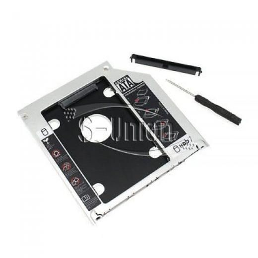 """Lg Apple Macbook / Pro 2nd Hard Drive Caddy/adapter 9.5mm 2.5"""" Optical Bay 180 Days For /macbook Sata Pls Confirm Your Model And Picture Before Purchase 840637145992"""