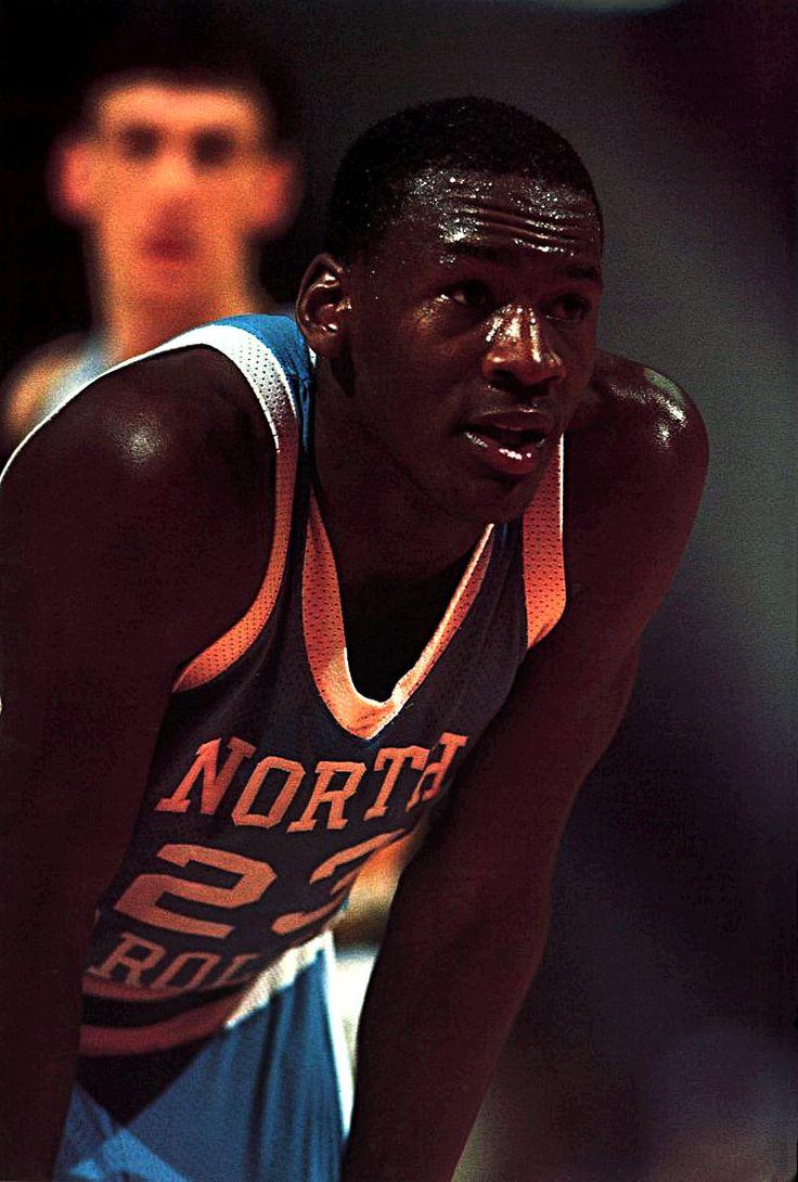 Michael Jordan - North Carolina Tar Heel.But any way happy b dayJordan